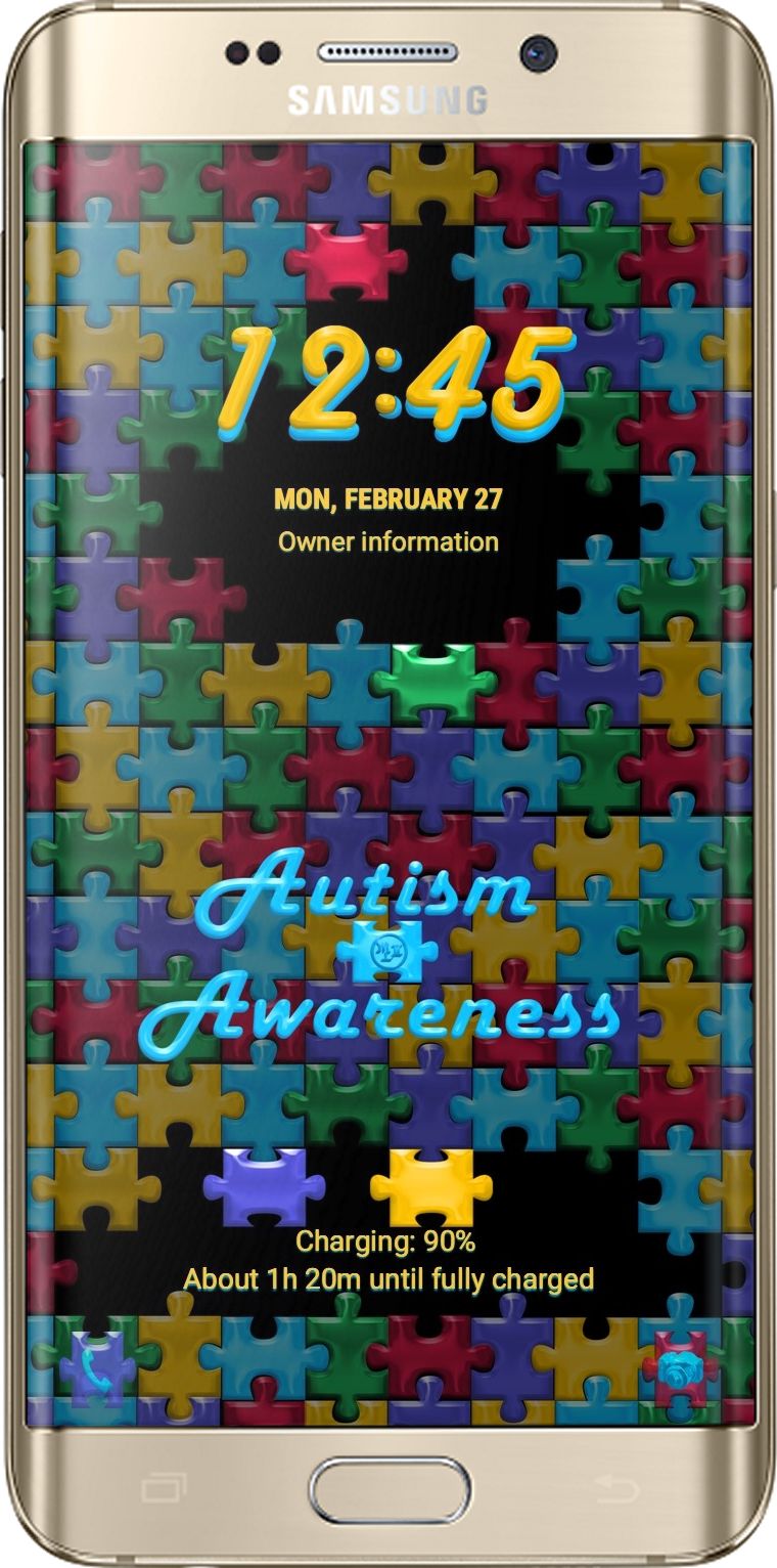 Autism Awareness Theme App