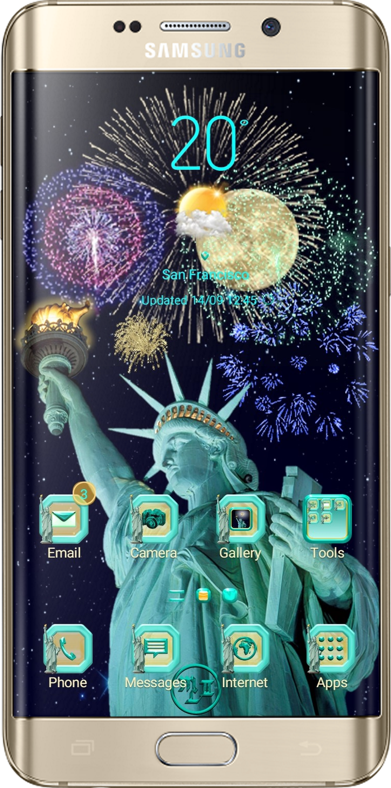 Lady Liberty Theme App