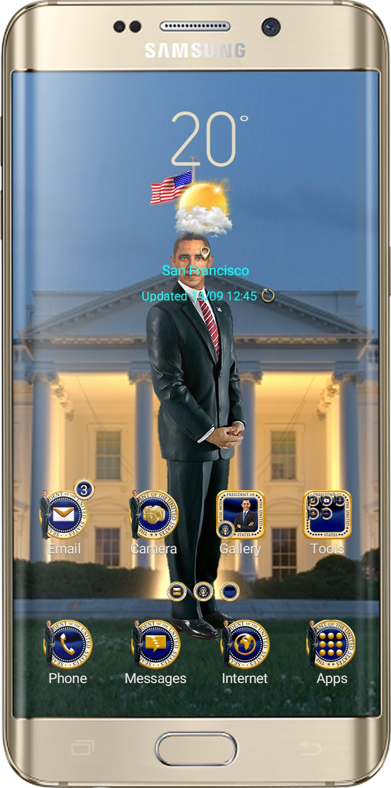 44th POTUS Theme App