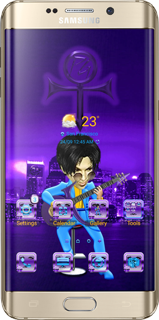 Purple Genius Theme App