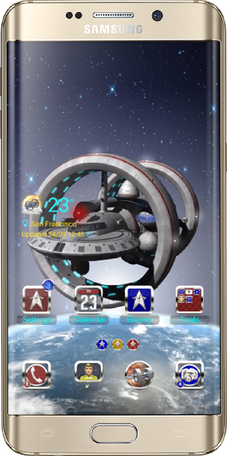 Trekkies Dream Theme App