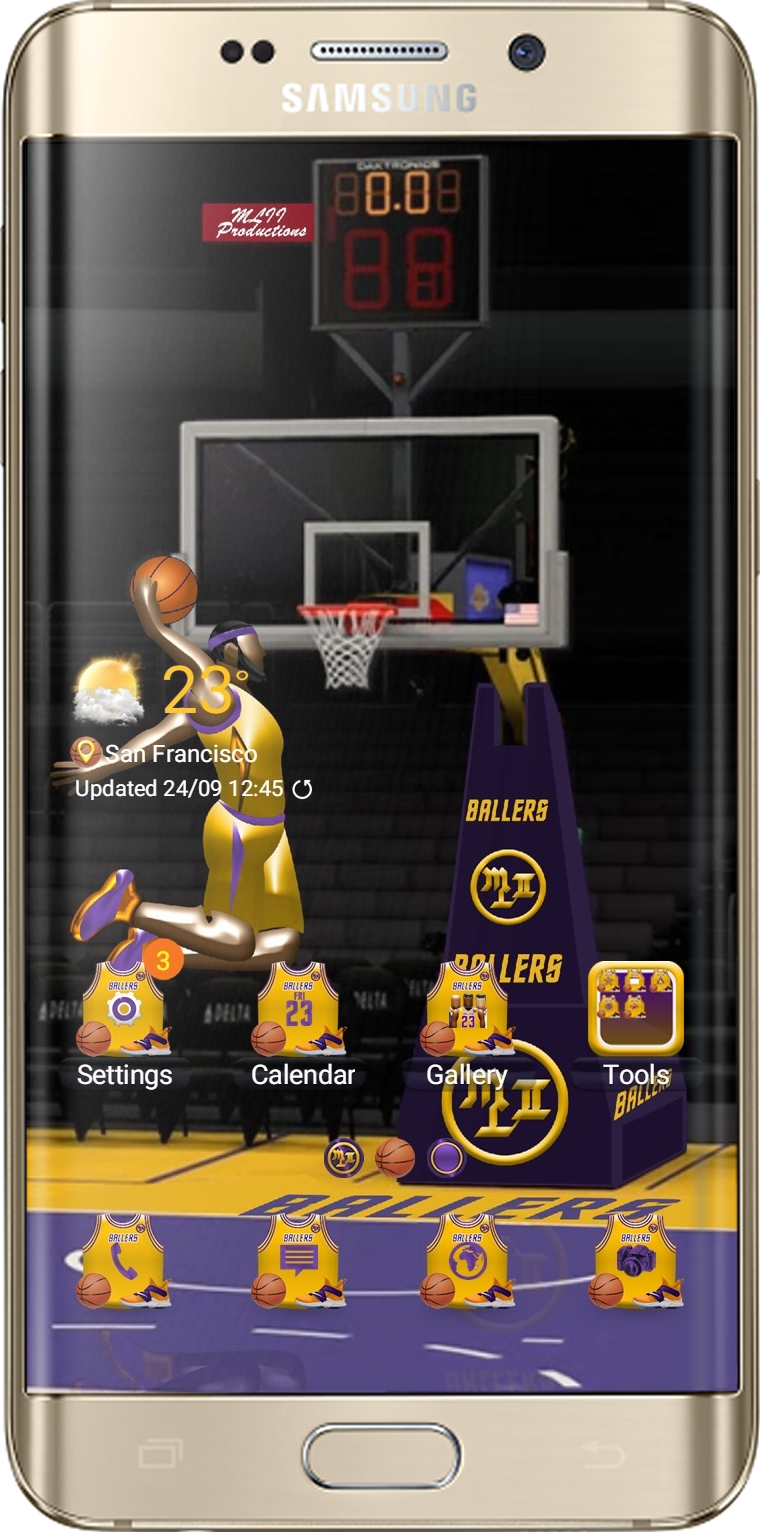 LA Basketballer Theme App