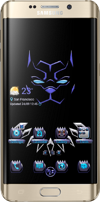 Black Panther Technology App